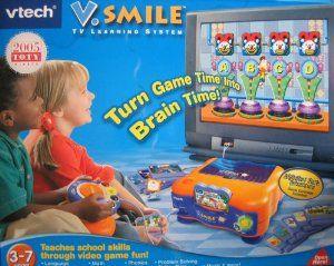 V Smile Tv Learning System With Alphabet Park Adventure border=