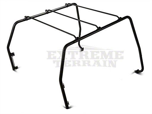 Barricade Roof Rack; Textured Black (97-06 Jeep Wrangler