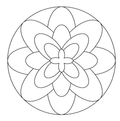 Maestra de Infantil Mandalas para colorear Mandalas de profesiones