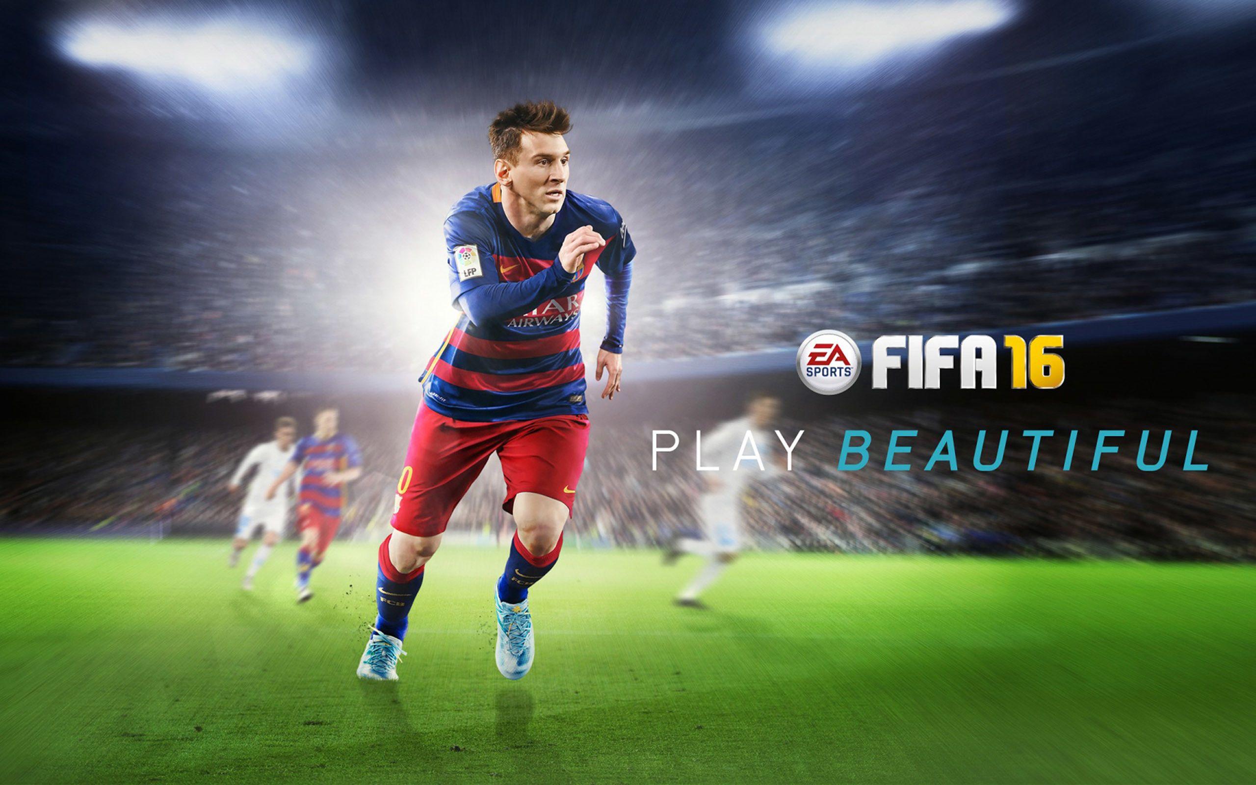 2560x1600 Lionel Messi Fifa 16 Wallpaper Fifa 16 Fifa Lionel Messi