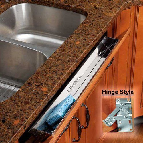 Under Kitchen Sink Tray I found out about this space saving under the sink drawer idea for i found out about this space saving under the sink drawer idea for your kitchen over workwithnaturefo