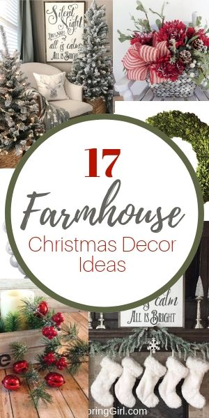 farmhouse decorating ideas for christmas christmas farmhousestyle ideas christmasdecor farmhousedecor decorating
