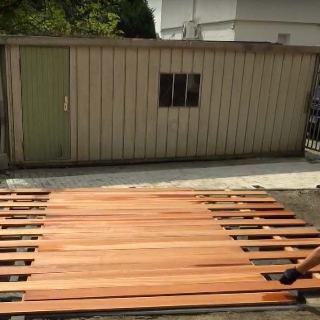 Holzterrasse bauen Schritt für Schritt (mit Bildern