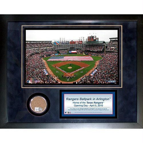 Ballpark at Arlington 11x14 Mini Dirt Collage