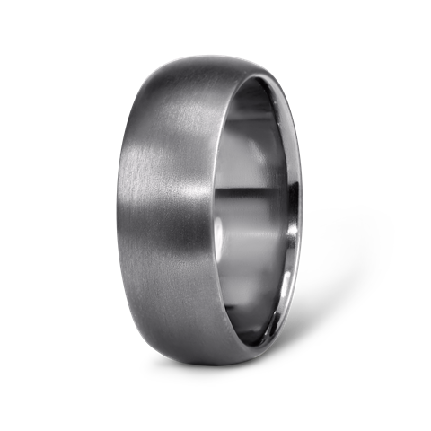 Tantalum Clic Half Round Wedding Ring Https Grewandco Au