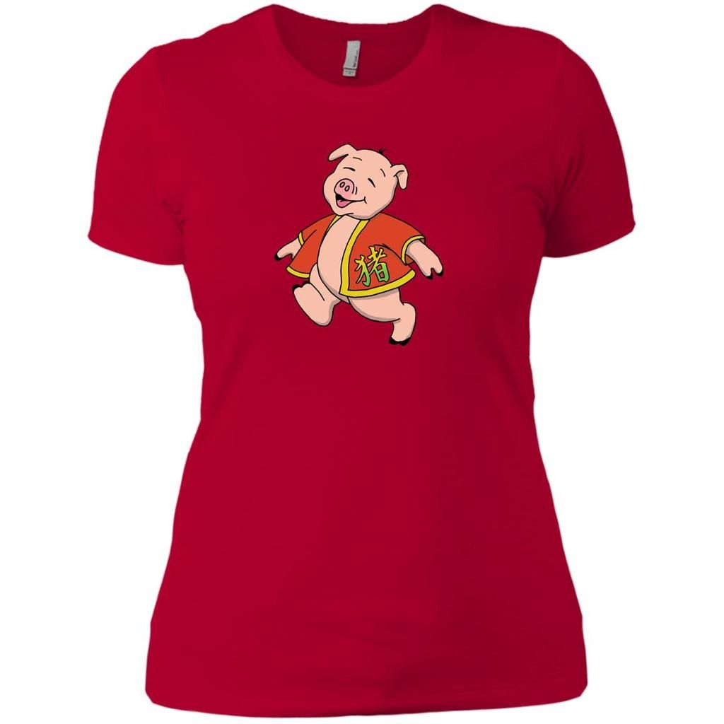 5afa0db1 Year Of The Pig Ladies' Chinese New Year T-Shirt in 2019 | Jimmo ...