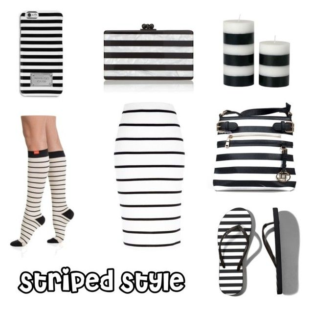 """Striped Style"" - Our favorite black and white striped items. Enjoy!"