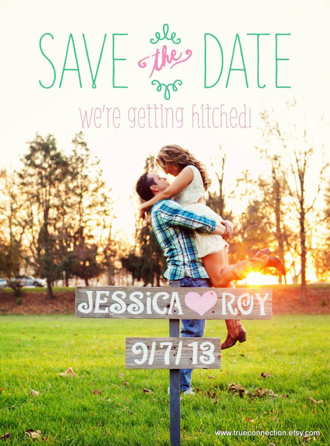 Save The Date Wedding Sign Photo Prop Rustic Wedding Photos Country