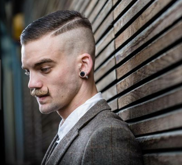 Vintage Comb Over 30 Amazing Disconnected Undercut For Men 2018