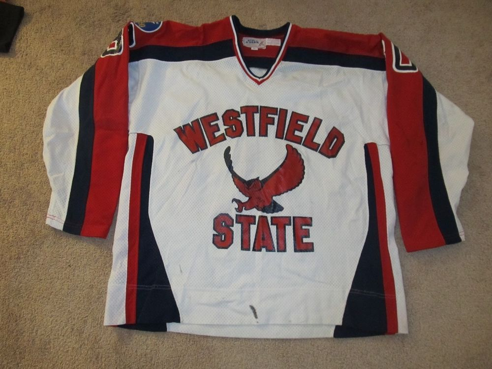 the best attitude 173fc 85217 Vintage Westfield State University NCAA Hockey Jersey-Adult ...