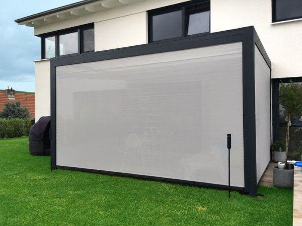 pergola q wasserdichte markise mit zip markisen zur. Black Bedroom Furniture Sets. Home Design Ideas
