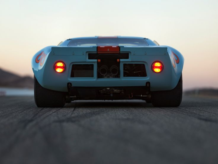 1968 Ford Gt40 Gulf Oil Le Mans Race Racing Supercar Classic Gd