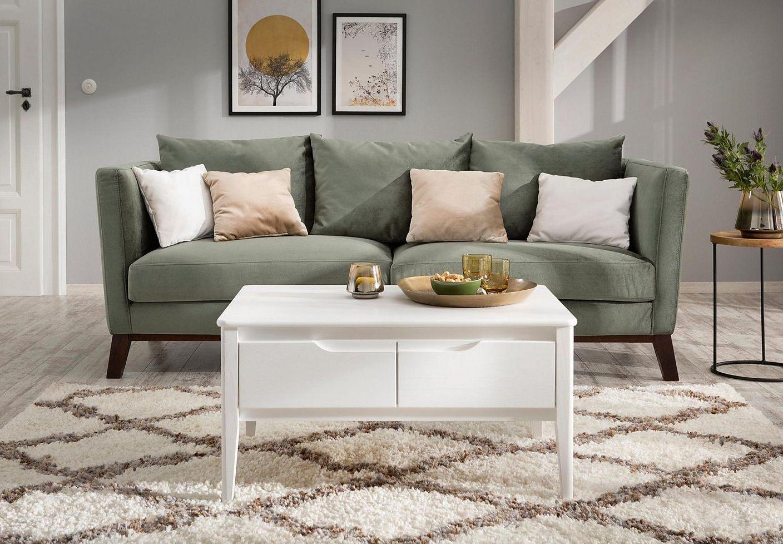 Sofa Im Skandinavischen Design Couch Couch Beistelltisch Relaxen