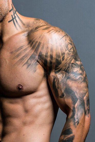 Shoulder Ink Mens Shoulder Tattoo Shoulder Tattoo Tattoos For