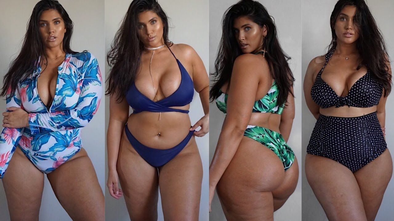 bf51fcdcca 2017 PLUS SIZE SWIMWEAR TRY ON HAUL | LATECIA THOMAS | mymy | Plus ...