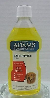 Adams Skin Medication Dogs Hot Spots Fda Approved Hair Loss