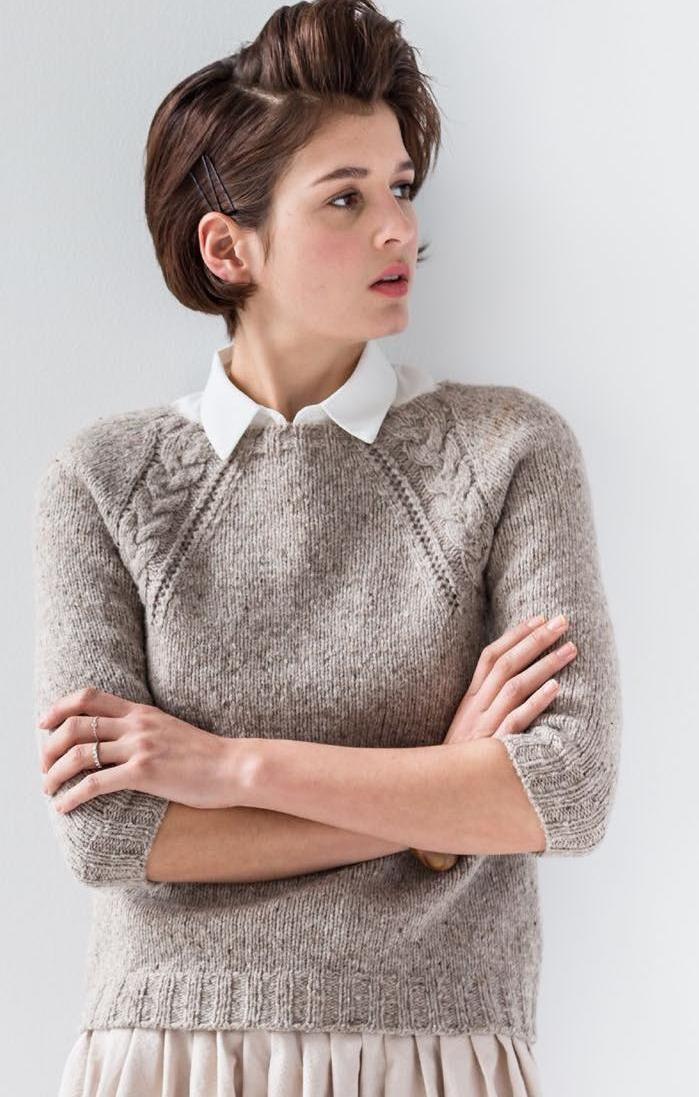 Photo of Brooklyn Tweed // Wool People 7 – Maglia – #Pulli #Knitting #PulliKnitting