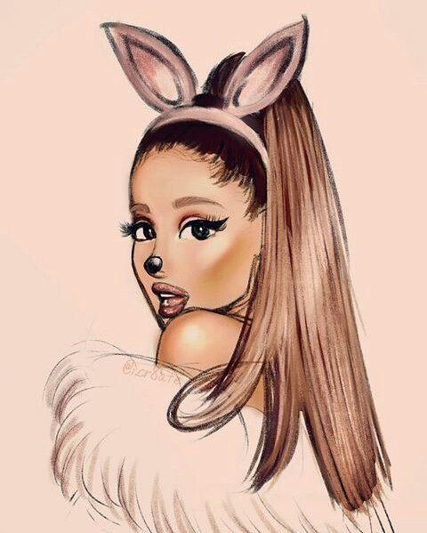Ariana Grande Yass Disegni Kawaii Disegni Artistici Grandi Disegni