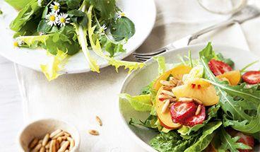 Zu den Rezepten für Salate und Dressings