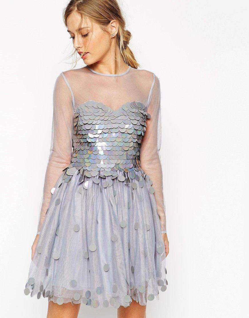 Asos salon shimmer bodice prom dress Надо купить pinterest