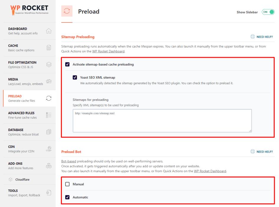 wp rocket preload | Blogging And Making Money Online | How to make