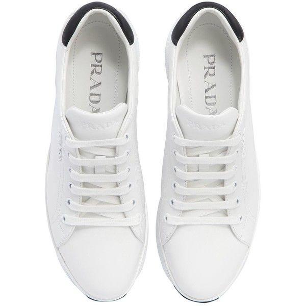 Prada Women 55mm Leather Platform Sneakers (32 20587a54d