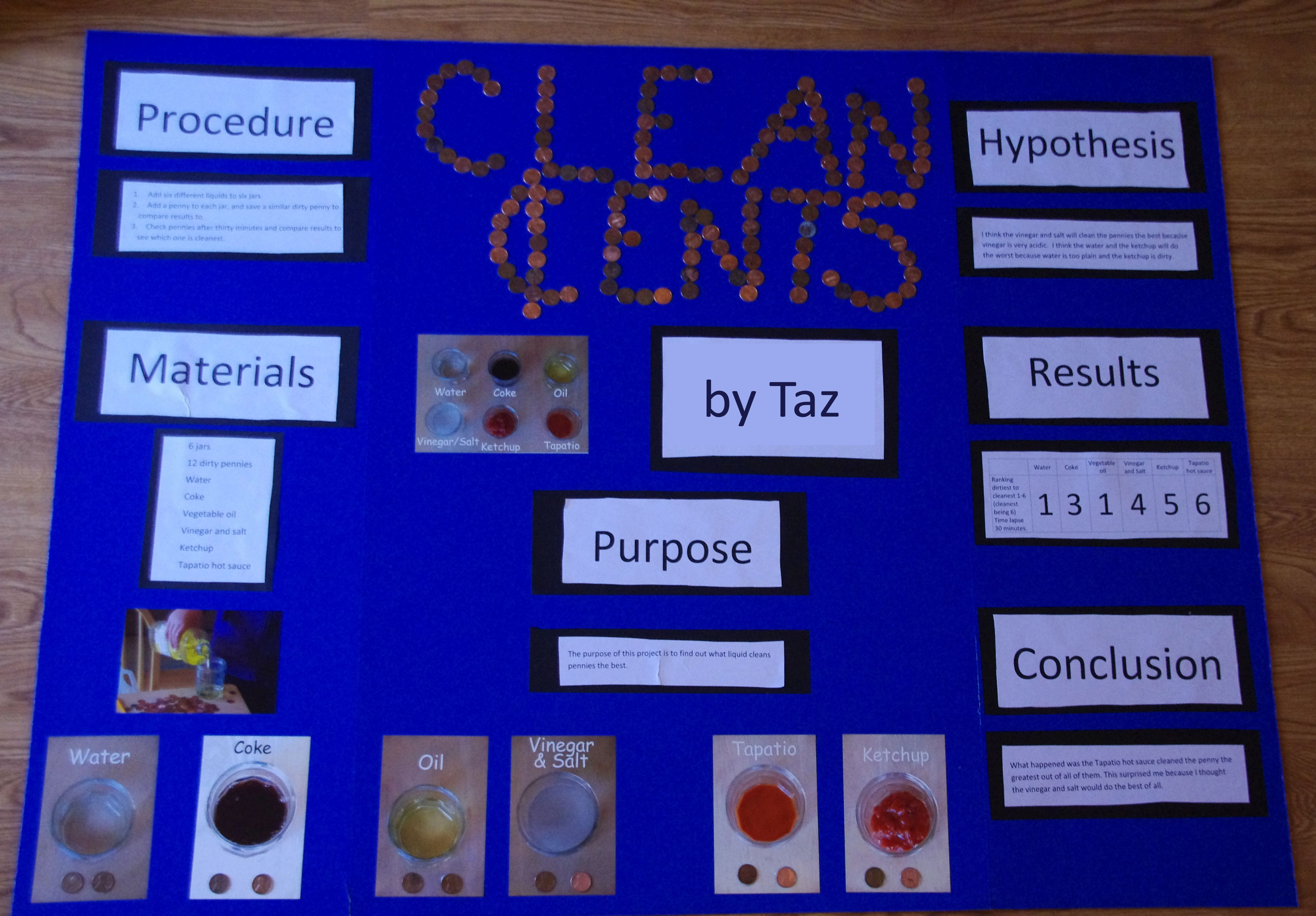 penny science project titles - google search | science fair ideas