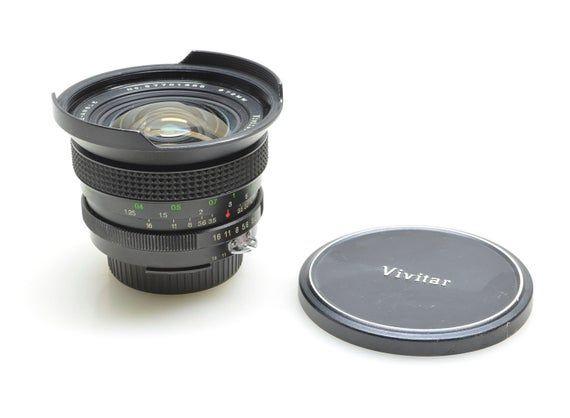 Vivitar 17mm f3.5 Ultra-Wide Angle Lens for Nikon AI, Beautiful Condition with Caps, SLR Film Camera, DSLR Nikon #wideangle