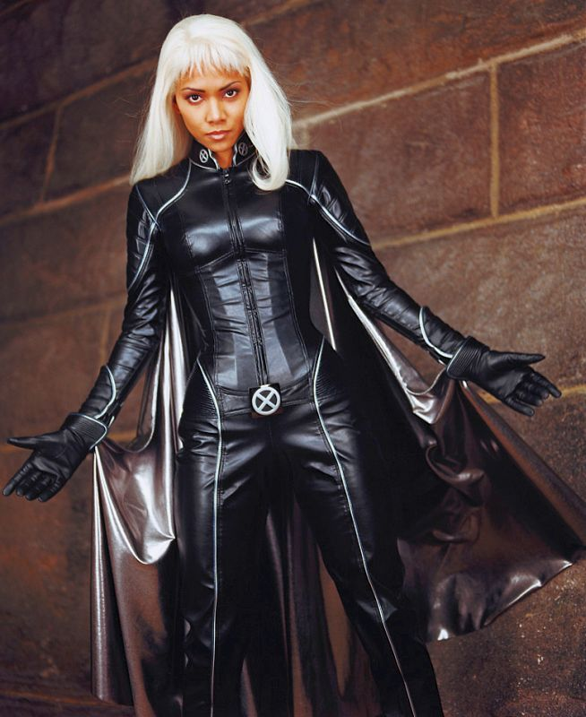 Female Superheroes Brought To Life Halle Berry Storm Halle Berry Halle Berry Hot