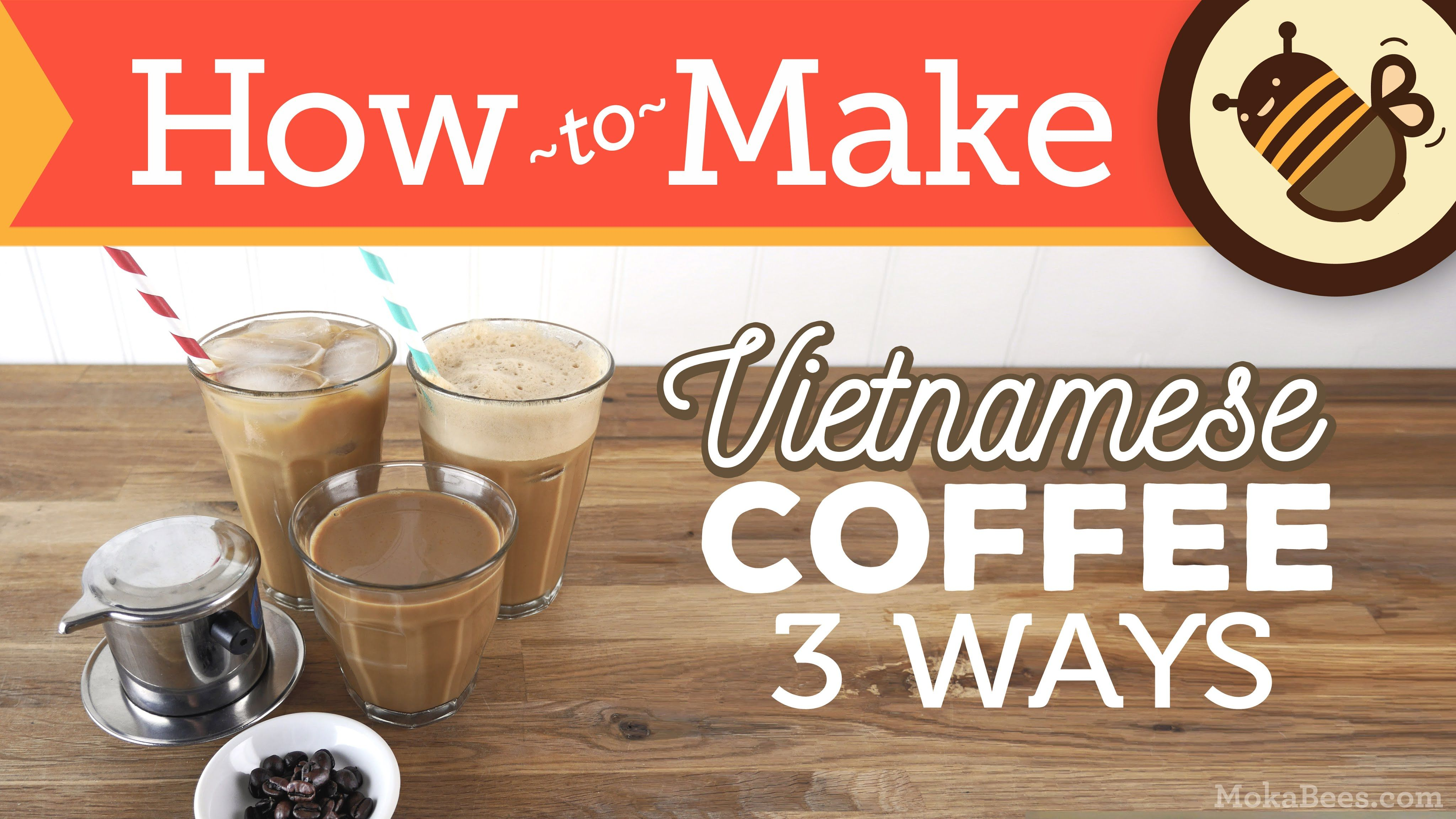 How to make vietnamese coffee 3 ways hot iced shaken