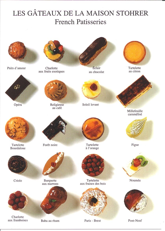 Chocolates And Pastries In Paris French Patisseriepatisserie