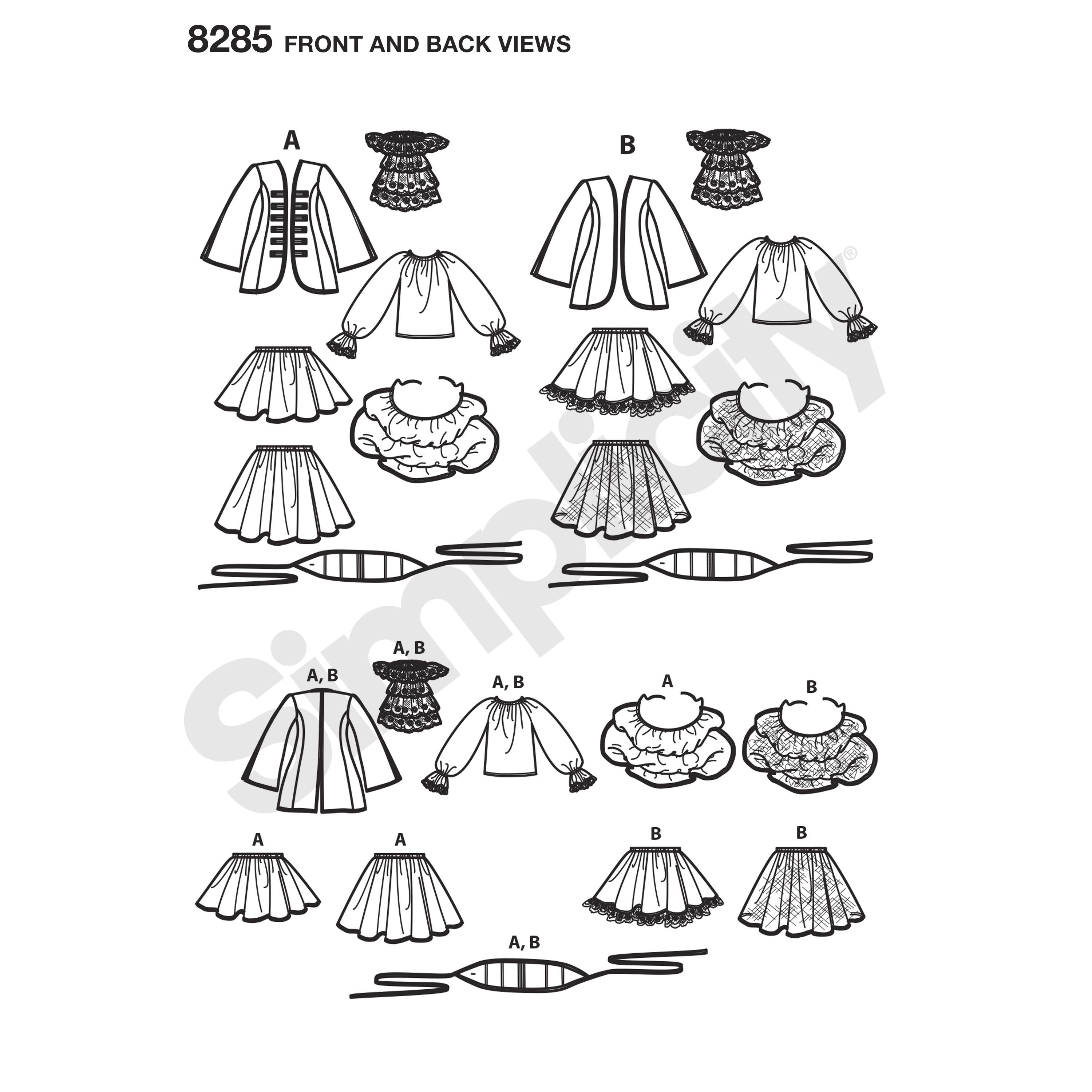 Simplicity Pattern Misses Costumes From Lori Ann