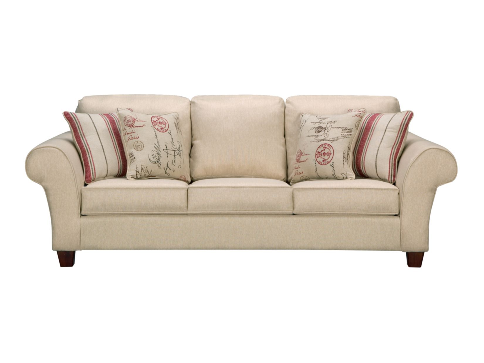"Palmer Cream 92"" Sofa American Signature Furniture $499"
