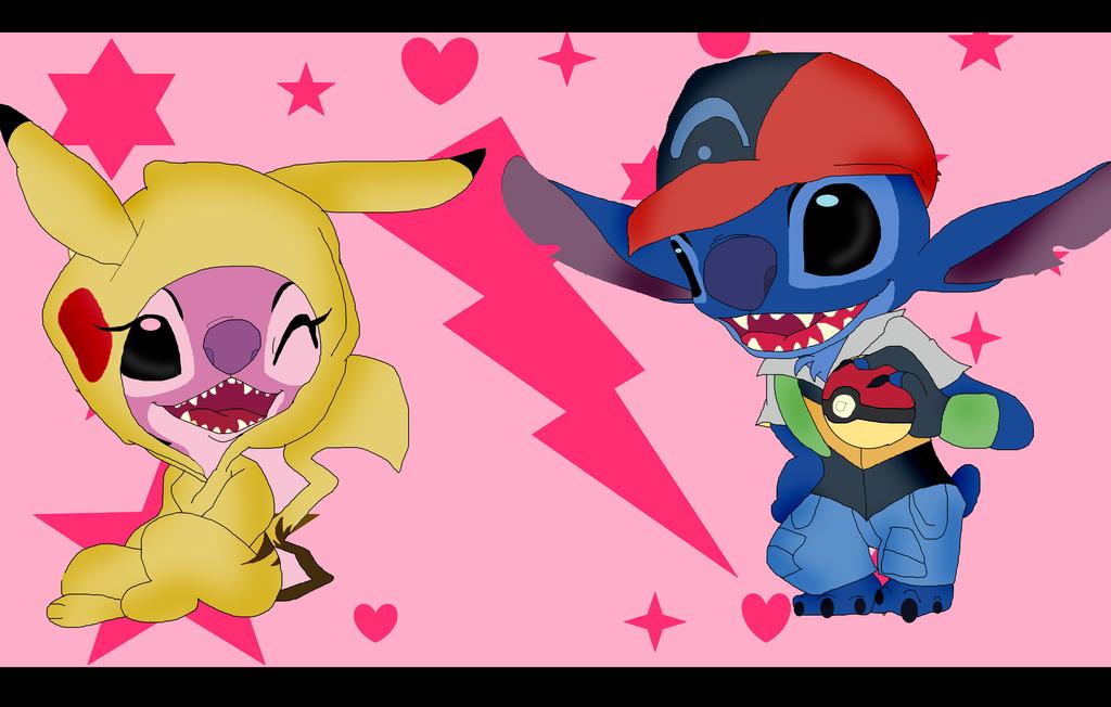 Pika Girl Angel And Ash Stitch