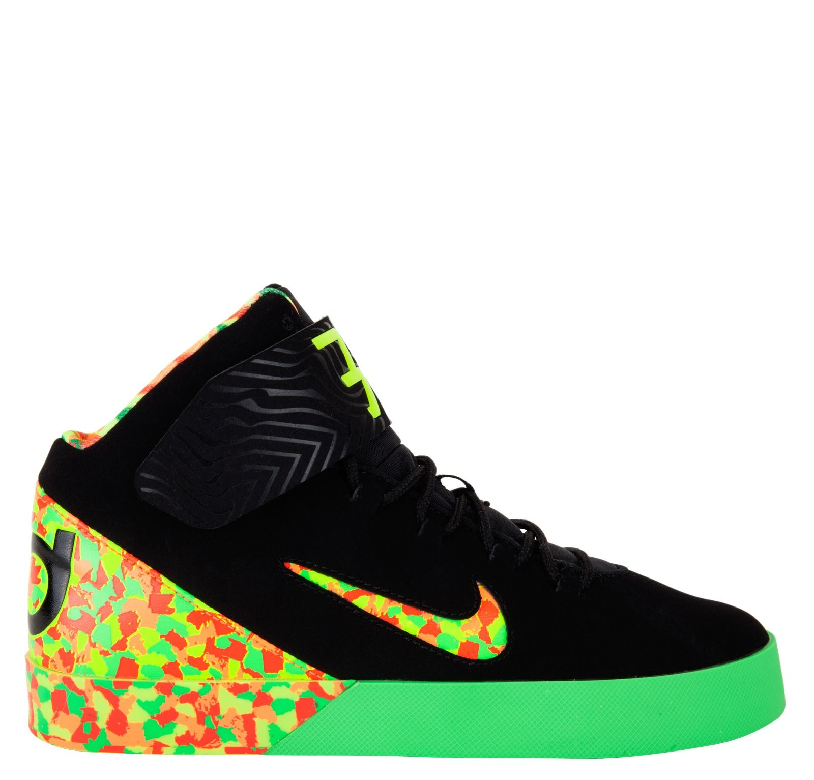 kd high top shoes for kids | Nike Kids KD Vulc Mid Grade School - Black