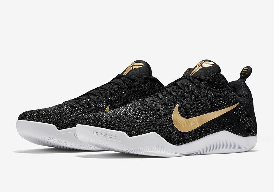 Nike Kobe 11 Black Gold GCR 885869-070