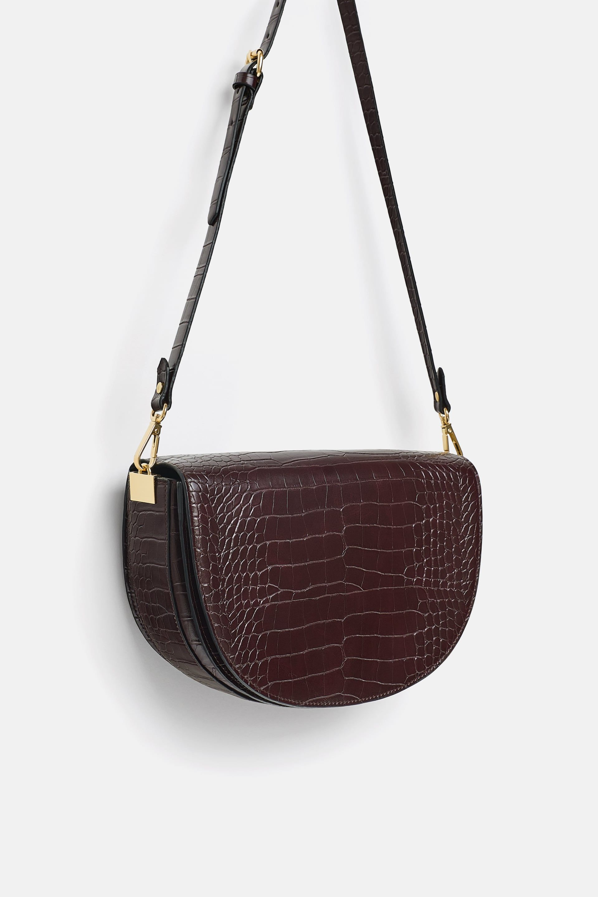 1e2a51e89973 Image 3 of CROCODILE PRINT CROSSBODY BAG from Zara
