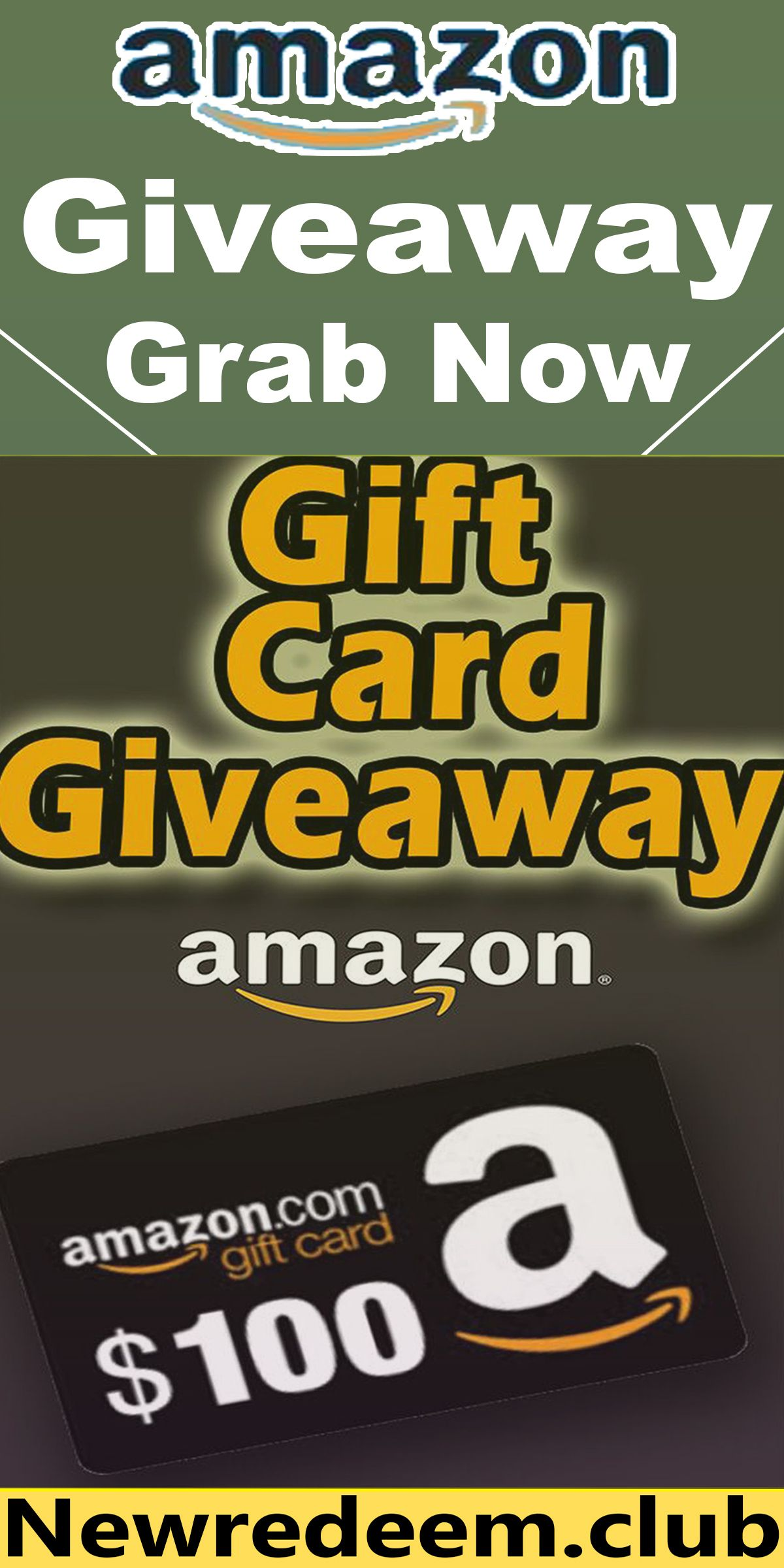 Photo of Get a $100 #amazon gift card free !!!