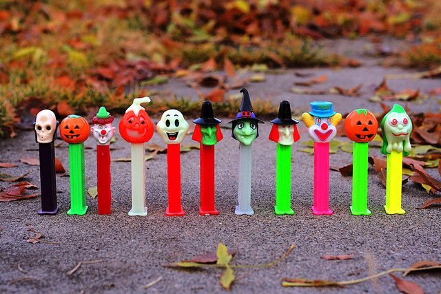 Pez Spooky Bunch