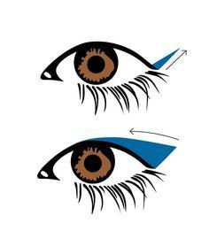 5 tips para un delineado cat eye sin errores