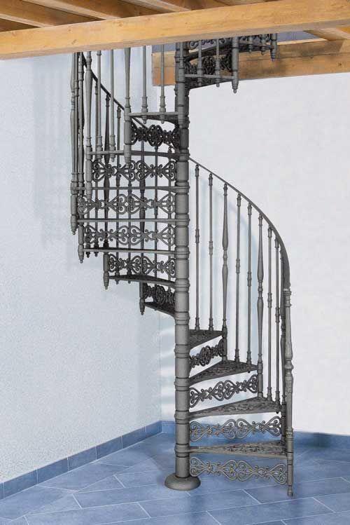 Nostalgie Wendeltreppe O 160 Cm Modell 2070 S Treppenstufen Aus