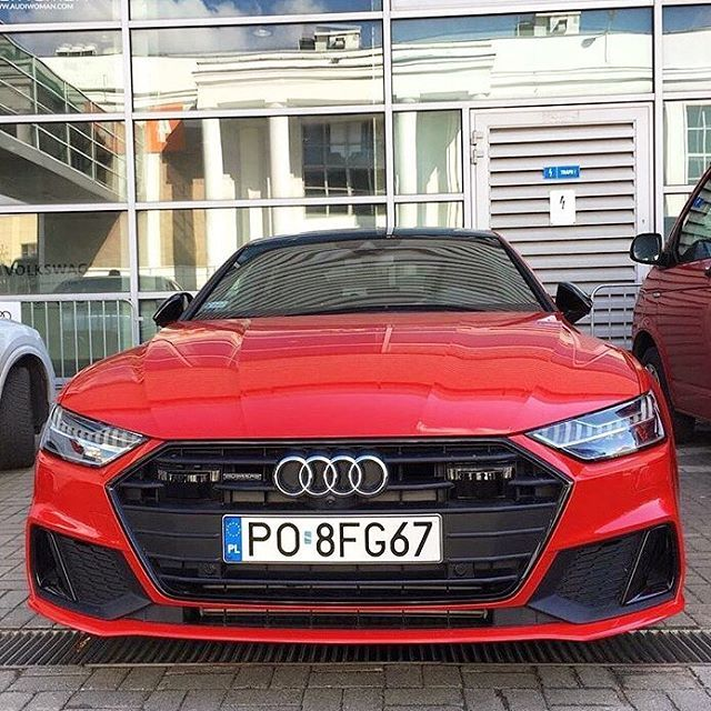 Audi A7 2020 Black Edition: New Audi A7 Is Red Black Optics The Way To Go