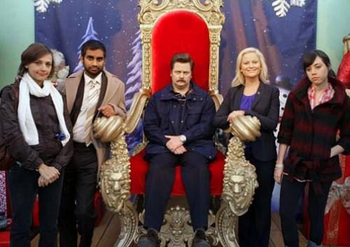 Parks And Rec Christmas Episodes.Parks And Rec 3 Tv Movies Celebrities Parks Recreation