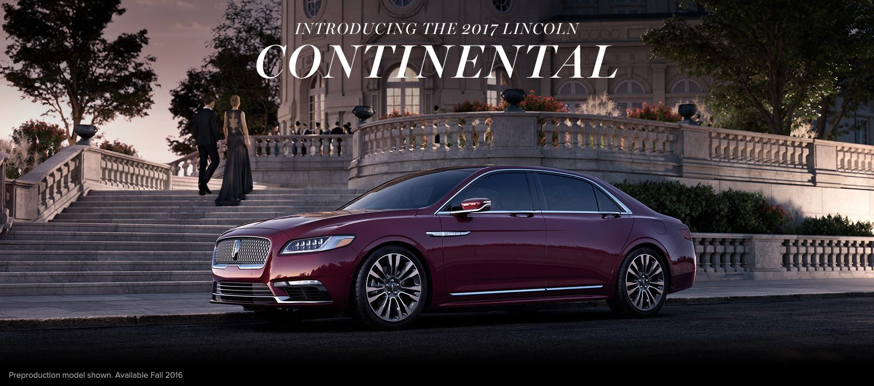 2017 Lincoln Continental wealth Pinterest