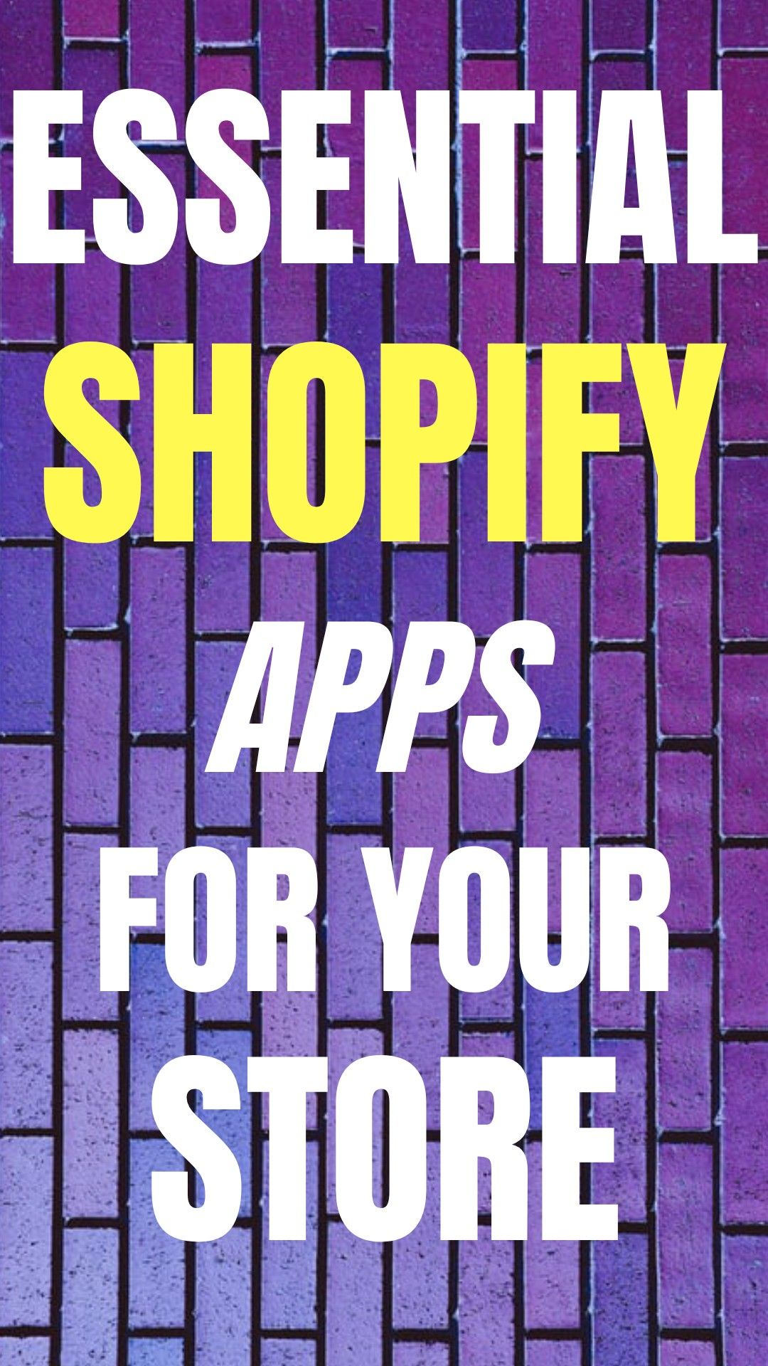 The best apps for your shopify store Young Retiree