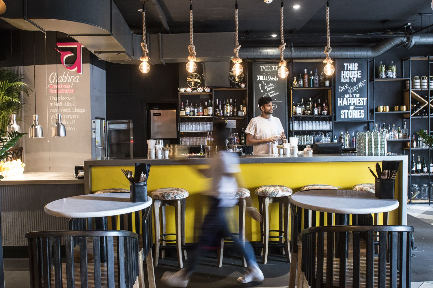 Indian restaurants interior design anyone who has travelled on indiaus roads will warm to the legend of