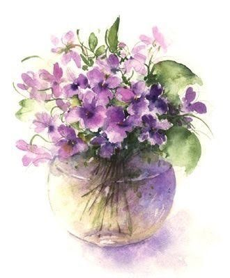 PEONY — Watercolor by Rose Eddington