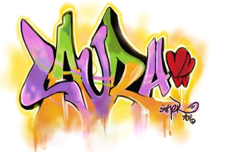 Graffitis De Nombres Graffitis Graffiti Graffitis Nombres