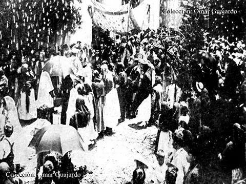 Peregrinación al Santuario de Guadalupe en 1930