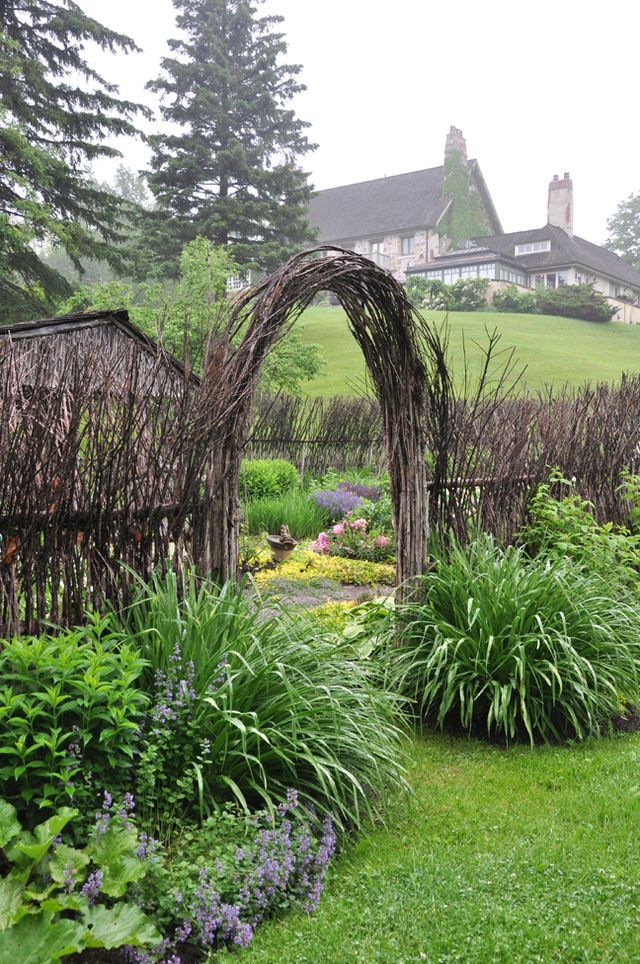 A Willow Garden in the Rolling Hills of Caledon, Ontario (Three Dogs ...